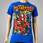 The Air I Breathe Triceratops Teal T-Shirt