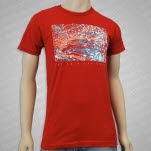 The American Scene Neurons Cardinal T-Shirt