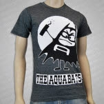 The Aquabats Aquabomber Charcoal Grey T-Shirt