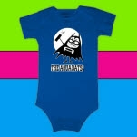 The Aquabats Aquabomber Royal Blue T-Shirt