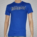 The Aquabats Stars Logo Royal Blue T-Shirt