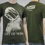 The Art of Noise Hush Army Green T-Shirt