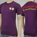The Art of Noise Whos Afraid Purple T-Shirt