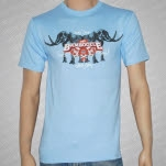 The Bamboozle 2007 Mastodons Light Blue T-Shirt
