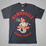 The Bamboozle 2012 2012 Neptune Charcoal T-Shirt