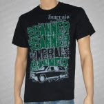 The Banner Hearse Black T-Shirt