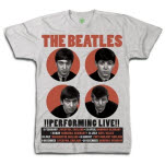 The Beatles 1962 Performing Live T-Shirt