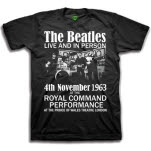 The Beatles Live And in Person T-Shirt