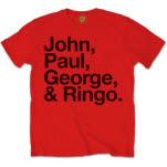 The Beatles John Paul George And Ringo T-Shirt