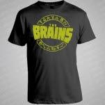 The Brains Logo Black T-Shirt