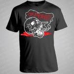 The Brains Skull Black T-Shirt