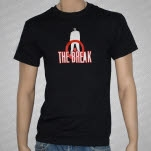 The Break White Man Black T-Shirt