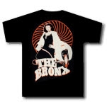 The Bronx Lady And Snake Black T-Shirt