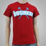The Business Logo Maroon T-Shirt