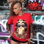 The Cleopatra Complex Sunglasses Red T-Shirt