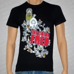 The Color Fred Cans Black T-Shirt