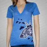 The Color Fred Guitar Bug Blue T-Shirt