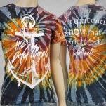 The Color Morale Anchor Tie Dye T-Shirt