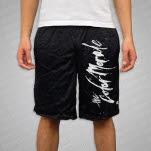 official The Color Morale Logo Black Mesh Shorts