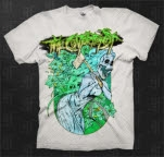 The Contortionist Axe White T-Shirt