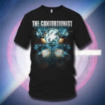 The Contortionist Space Grid Black T-Shirt