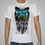 The Dangerous Summer Butterfly White T-Shirt