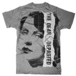 The Dear  Departed Looker Silver T-Shirt