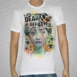The Dear  Departed Mute White T-Shirt
