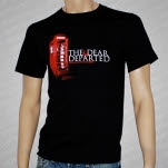 The Dear  Departed Phone Booth Black T-Shirt