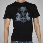 The Dear  Departed Train Logo Black T-Shirt
