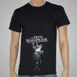 The Devil Wears Prada Angel Black T-Shirt