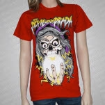 The Devil Wears Prada Crystal Ball Red T-Shirt