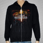 The Devil Wears Prada Dragonfly Black Hoodie Zip