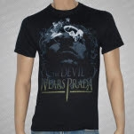 The Devil Wears Prada Gray Face Black T-Shirt