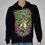 The Devil Wears Prada Hands And Snake Black Hoodie Zip