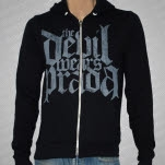 The Devil Wears Prada Logo Black Hoodie Zip