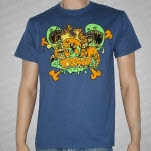 The Devil Wears Prada Monsters Denim Blue T-Shirt