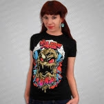 The Devil Wears Prada Nukemonster Black Girls T-Shirt