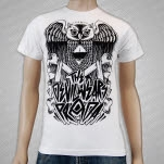 The Devil Wears Prada Owl White T-Shirt