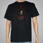 The Devil Wears Prada Scroll Skull Black T-Shirt