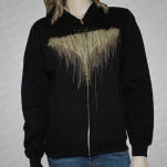 The Devil Wears Prada Splatter Hoodie Zip