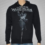 The Devil Wears Prada Statue Black Hoodie Zip