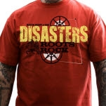 The Disasters Roots Rock Red T-Shirt