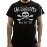 The Disasters Street Rock N Roll Black T-Shirt