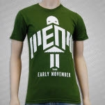 The Early November Flying Olive Green T-Shirt