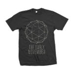 The Early November Geometric Black T-Shirt