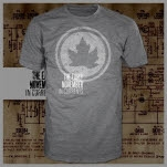 The Early November Leaf Heather Grey T-Shirt