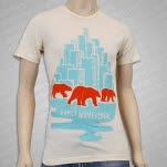 The Early November Polar Bears Natural T-Shirt
