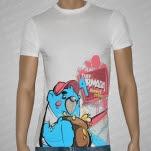 Thee Armada Bear White T-Shirt