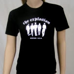 The Explosion Boston Black T-Shirt